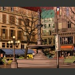 Fototapeta - Walk through the French square A0-LFTNT0694