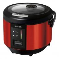 Garnek 1,8l do gotowania ryżu Sencor czerwono-czarny