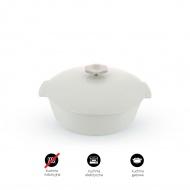 Garnek owalny 2,9 L porcelanowy Revol Revolution biały