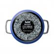 Garnek wysoki z pokrywą Silit Nature Blue 24cm 21.0229.9493