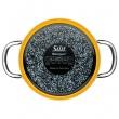 Garnek wysoki z pokrywą Silit Passion Yellow 16cm 21.0229.8137