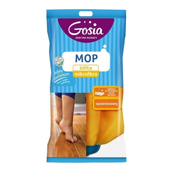 GOSIA Mop żółta mikrofibra zapas 5904771003329
