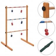 Gra plenerowa Spin Ladder, wykonana z drewna