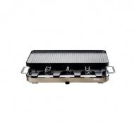 Grill Raclette 8 z dwustronną, powlekaną, aluminiową płytą firmy SPRING