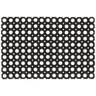 Gumowe maty, wycieraczki, 2 szt., 16 mm, 60 x 80 cm