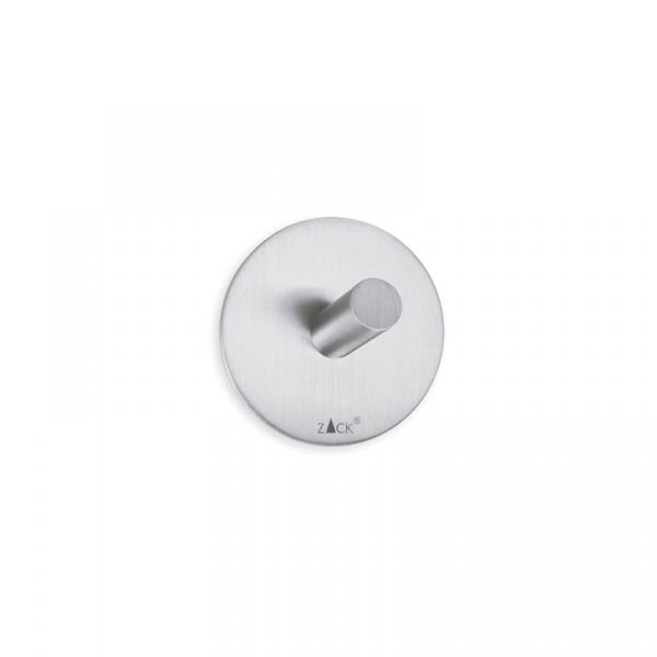 Haczyki łazienkowe samoprzylepne 2 szt. Zack Duplo okrągłe ZACK-40306