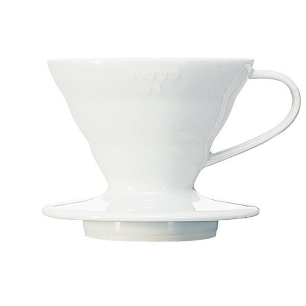 Hario ceramiczny Drip V60-01 biały CD-VDC-01W