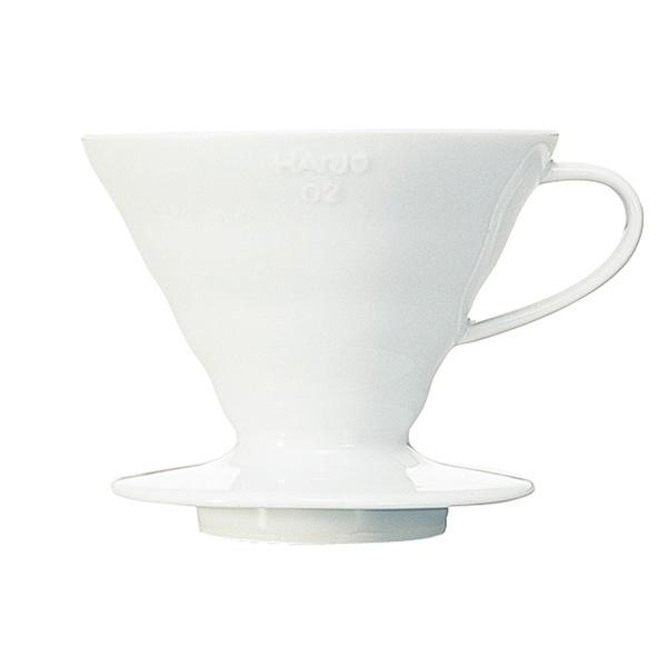 Hario ceramiczny Drip V60-02 biały CD-VDC-02W