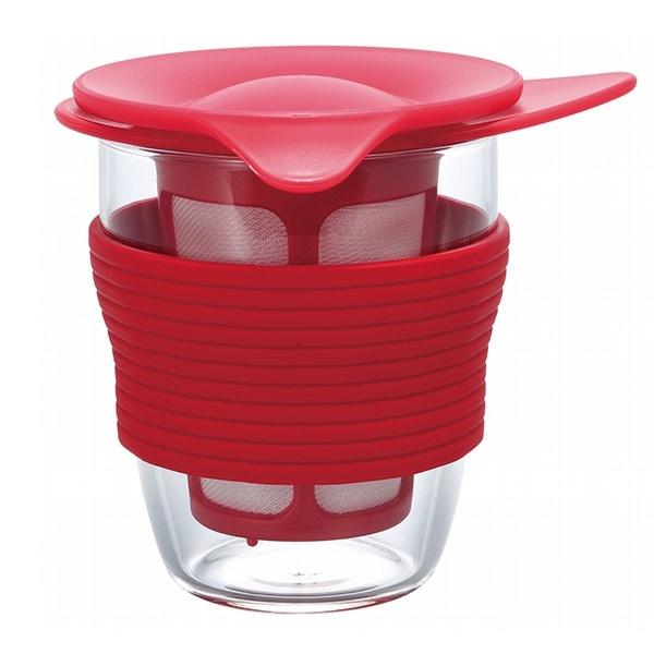 Hario - Handy Tea Maker - Czerwony 200ml CD-HDT-M-R