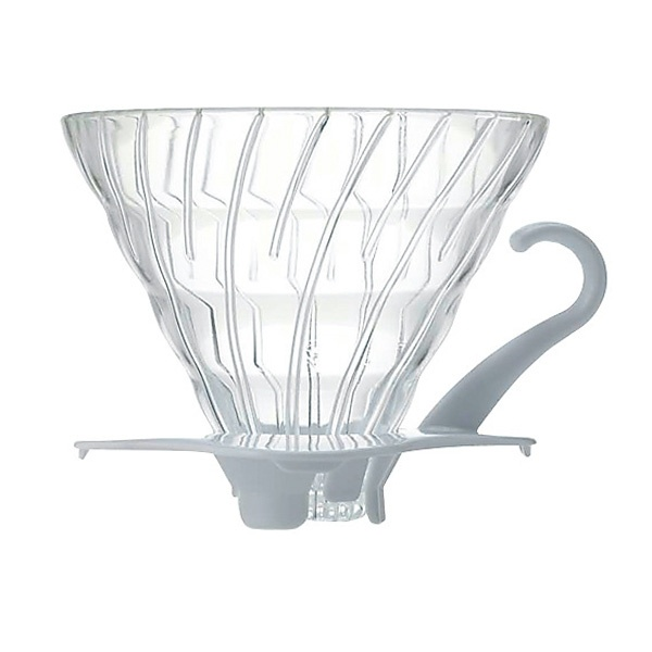 Hario szklany Drip  V60-02 - biały CD-VDG-02W