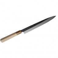 Hideo Kitaoka Nóż Shirogami Black Yanagi 27 cm