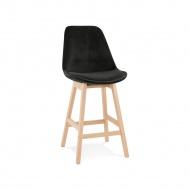 Hoker Kokoon Design Basil Mini czarny nogi naturalne