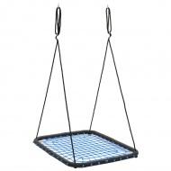 Huśtawka 104x76 cm, 200 kg, niebieska