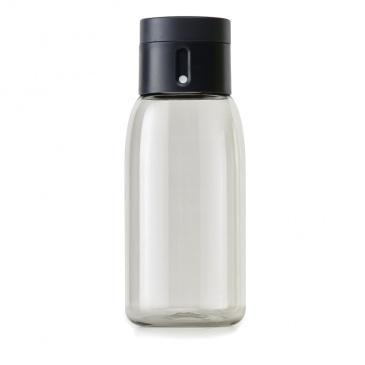 JJ - Butelka na wodę DOT, 400ml, czarna