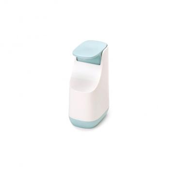 Dozownik na mydło w płynie 350ml Joseph Joseph Slim błękitno-niebieski