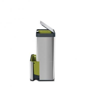 JJ - Kosz TOTEM 60l, stalowy, Intelligent Waste