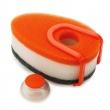 JJ -Zestaw 3 gąbek do zmywania z poj.,pomarańczowe 85073