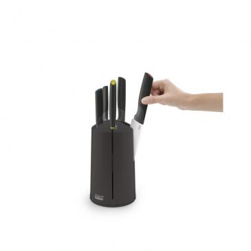 JJ - Zestaw 5 noży w bloku karuzeli, Elevate