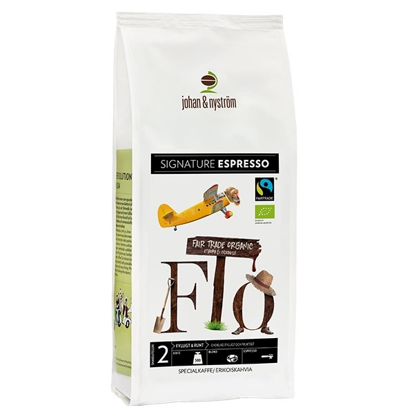 Johan & Nyström - Espresso Fairtrade CD-KEFAIR500