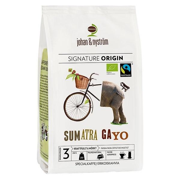 Johan & Nyström - Sumatra Gayo Mountain Fairtrade CD-KUFAIR125