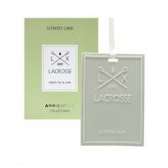Kartka zapachowa green tea&lime Lacrosse