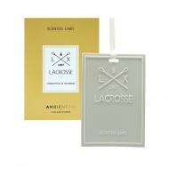 Kartka zapachowa osmanthus&bourbon Lacrosse