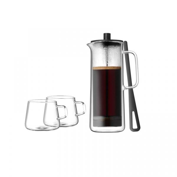 Kawiarka tłokowa z 2 filiżankami do kawy WMF 0632459990