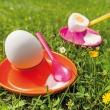 Kieliszek do jajek Koziol Columbus pomarańczowo-czerwony KZ-3004116