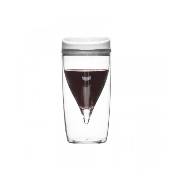 Kieliszek do wina piknikowy 300 ml Sagaform Picnic przezroczysty SF-5016677