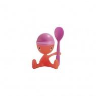 Kieliszek na jajko Cico czerwony