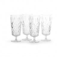 kieliszki piknikowe do szampana, akryl, 4 sztuki, 0,2 l