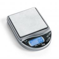 kieszonkowa, precyzyjna waga elektroniczna, do 300 g, dokładność 0,1 g, 7 x 10 x 1,6 cm