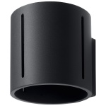 Kinkiet 10x12cm Sollux Lighting Inez czarny