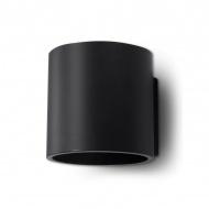 Kinkiet 10x12cm Sollux Lighting Orbis czarny
