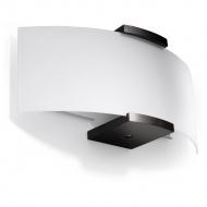 Kinkiet 14x33x14cm Sollux Lighting Emilio biały