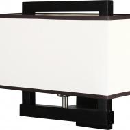 Kinkiet 30x35cm Lampex Gusto biały