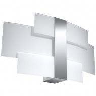 Kinkiet 41x23x7cm Sollux Lighting Celia biały