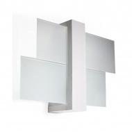 Kinkiet 43x30cm Sollux Lighting Feniks 1 biały