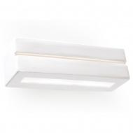 Kinkiet 9x23x9cm Sollux Lighting Vega line biały