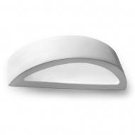 Kinkiet Ceramiczny Atena 38x9cm Sollux Lighting biały