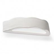Kinkiet ceramiczny Draco 36x9cm Sollux Lighting biały