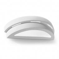 Kinkiet Ceramiczny Helios 40x9cm Sollux Lighting biały