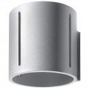 Kinkiet 10x12cm Sollux Lighting Inez szary