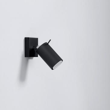 Kinkiet RING czarny