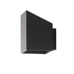 Kinkiet Rubik długi czarny