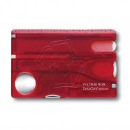 Kobiecy niezbędnik 5,5x8,2x0,5cm Victorinox czerwony