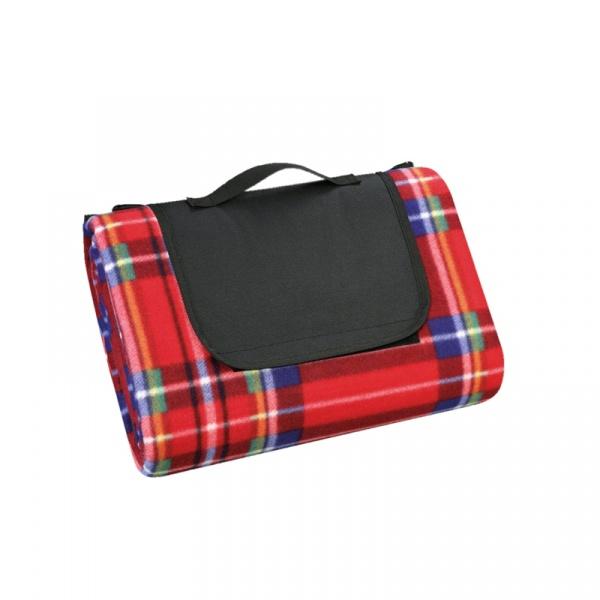 Koc piknikowy 200 x 200 cm Cilio czerwony CI-156652