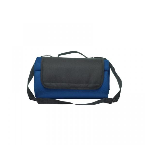 Koc piknikowy nieprzemakalny 120 x 150 cm Sagaform Picnic niebieski SF-5017463