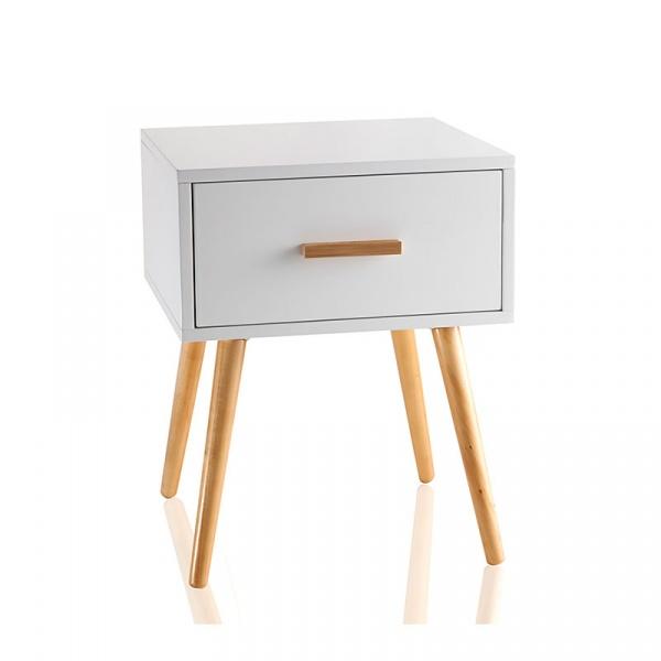 Komoda z szufladą Brandani Comodino S biały 55651