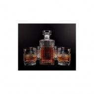 Komplet do whisky karafka + 6 szklanek Ambrosia - Luigi Bormioli